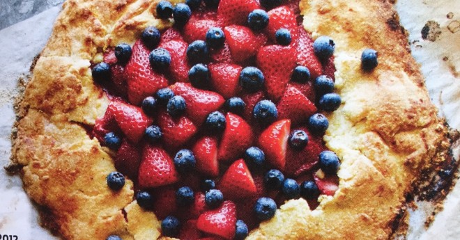 StrawberryGalette