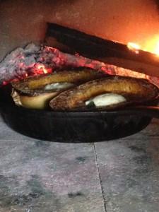 spaghetti squash parmesanwood fired recipe image