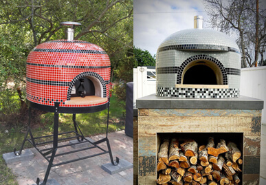 Napolino60 Outdoor Pizza Oven Wood Fired