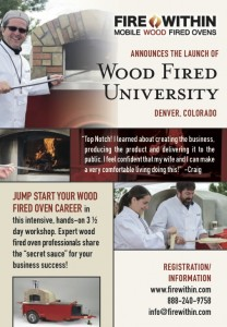 cooking school wood fired university