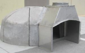 mobile pizza oven kit