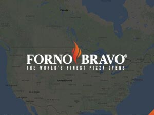 forno bravo map us and canada wood oven map