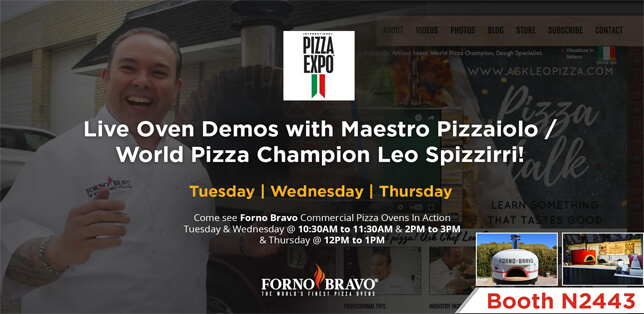 2017 Pizza Oven Expo
