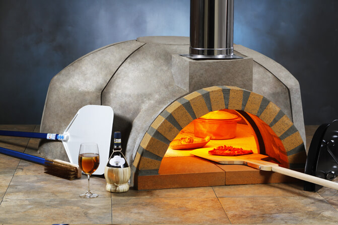 modena commercial pizza oven kit