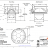Modena140 FA Commercial Pizza Oven Drawing
