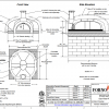 Modena2g160 Commercial Pizza Oven Kit Drawing