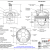 napoli120 countertop commercial pizza oven drawing