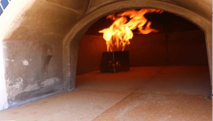 Vesuvio Gas Pizza Oven Drago P1+ Burner