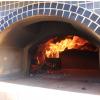 Vesuvio Gas / Wood Combination Pizza Oven Close Up