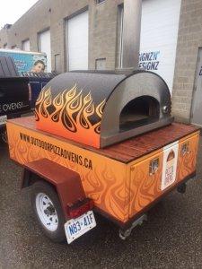 Ultra40 Portable Pizza Oven Trailer