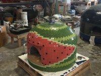 Napolino70 Outdoor Pizza Oven Watermelon