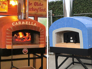 Roma Commercial Wood Fired Pizza Oven
