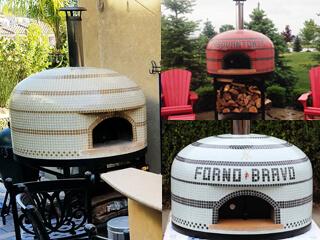 Vesuvio Custom Tiled Pizza Oven