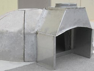 Knock Down Pizza Oven For Trailer