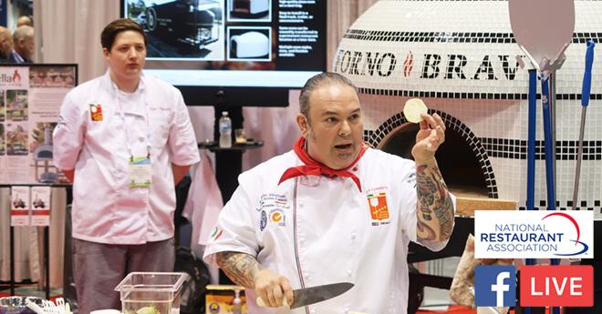 Leo Spizzirri Pizza Oven Demo