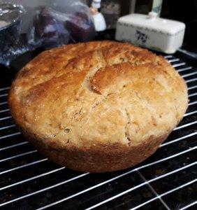 Loaf of Sourdough Hearth Bread
