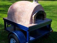 casa90, pizza oven, wood fired pizza, custom trailer, pizza trailer