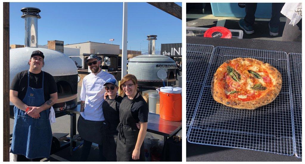 Chef-staff-pizza oven-pizza