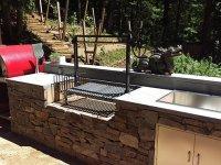 pizza, pizza oven, wood fired, wood fired pizza oven, outdoor kitchen, outdoor