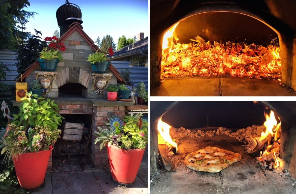 Try pic-pizza oven exterior and interior
