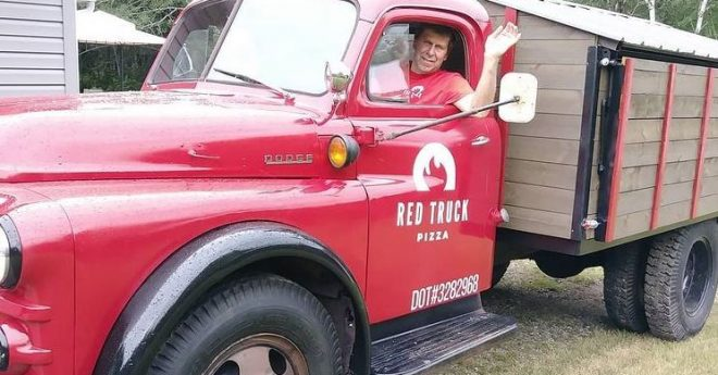 Driver_1952 dodge red truck